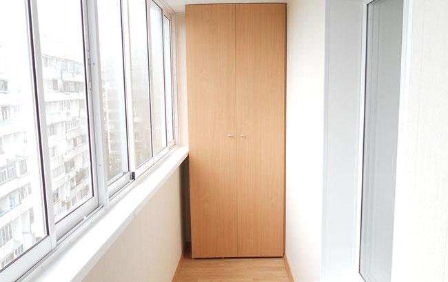 Пример отделки балкона и 155..