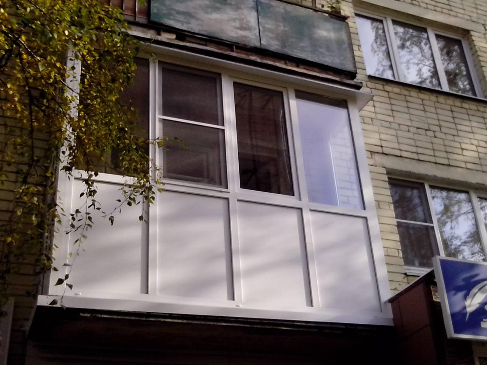 Услуги по остеклению балкона ооо морланд. - пластиковые окна.